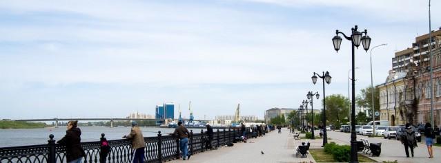Что посетить в Астрахани? — Городская набережная